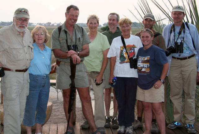 Arden, Arleen, Russell, me, Peter, Marilyn, Kate, Peter B, Bruce.