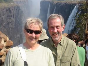 We're at Victoria Falls, Zambia