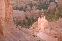 """""""Queen Victoria's Court"""" Bryce Canyon."""