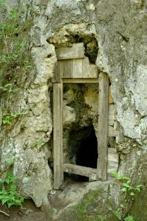 4. Door to…wherever…under the cliff.