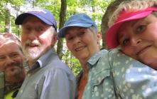 Selfie quartet.