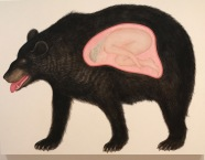 """Power bear"" by Susan Jamison."