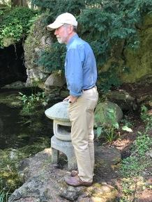 Japanese gardens fascinate my husband.